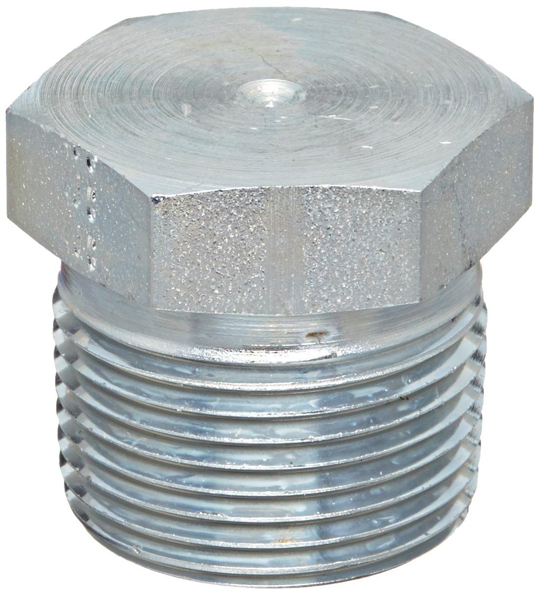 1//8-27 NPTF Male External Hex Pipe Plug Brennan 5406-P-02 Steel Pipe Fitting