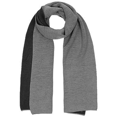 Lierys Echarpe en Tricot Isak 3D echarpe pour homme laine (taille unique -  noir-gris)  Amazon.fr  Vêtements et accessoires ebd424c6011
