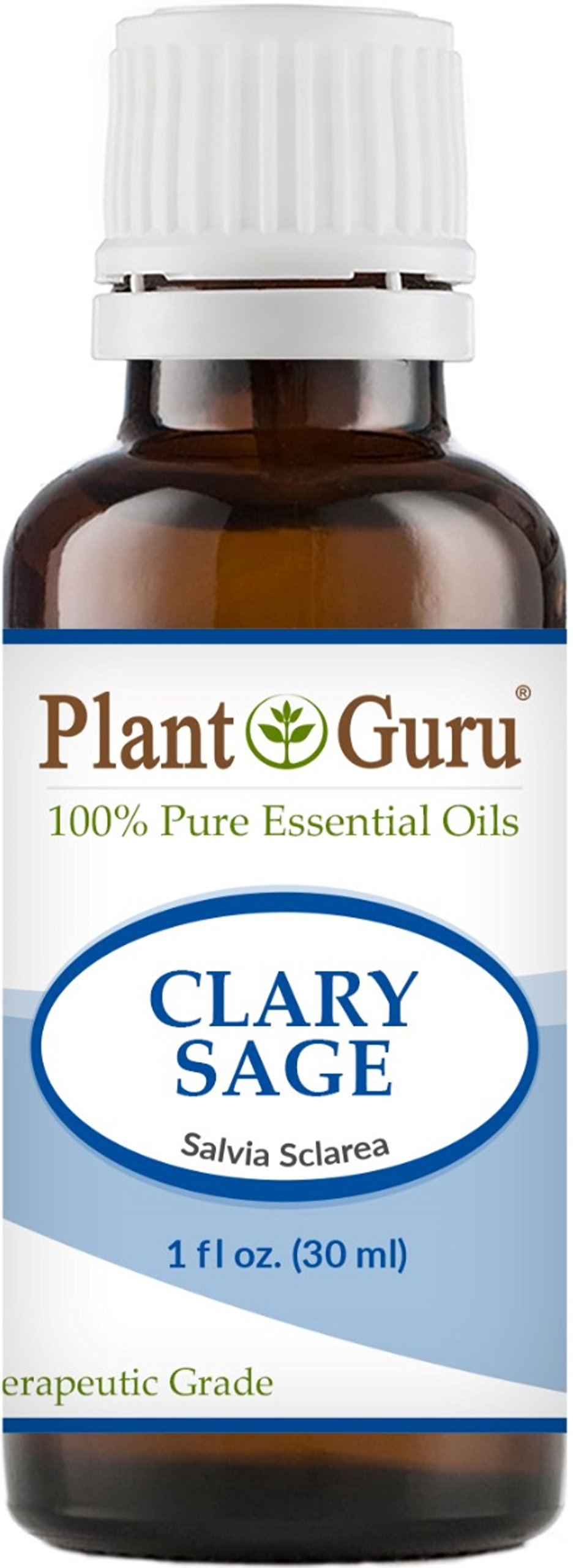 Clary Sage Essential Oil 30 ml. (1 oz.) 100% Pure Undiluted Therapeutic Grade.