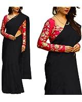 Indian Beauty Present Women's Art Chanderi Cotton Saree