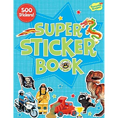 Peaceable Kingdom Super Sticker Book with Over 500 Stickers: Toys & Games