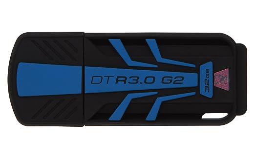 510 opinioni per Kingston DTR30G2/32GB Chiavetta USB, 32 GB, USB 3.0, Velocità Lettura, 120 Mb/s,