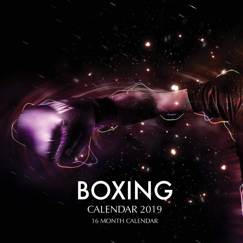 Boxing Calendar 2020 Boxing Calendar 2019: 16 Month Calendar: Paul Jenson