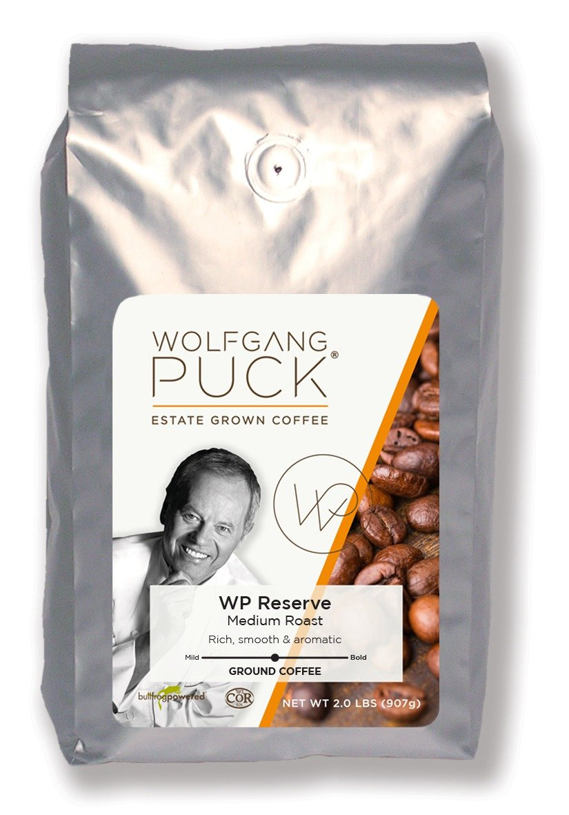 Wolfgang Puck Coffee, Chef's Reserve, Ground, 6 X 2 lb
