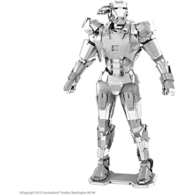 Fascinations Metal Earth Marvel War Machine 3D Metal Model Kit: Toys & Games