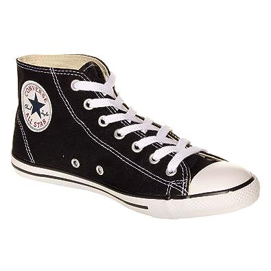715000f664d58 Converse All Stars Dainty Chaussures Montantes A Semelles Fines (Noir) -  35