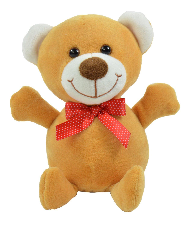Kögler 75628 - Laber-Bär, der Alles nachplappert-Plüsch Winfried Kögler Teddys