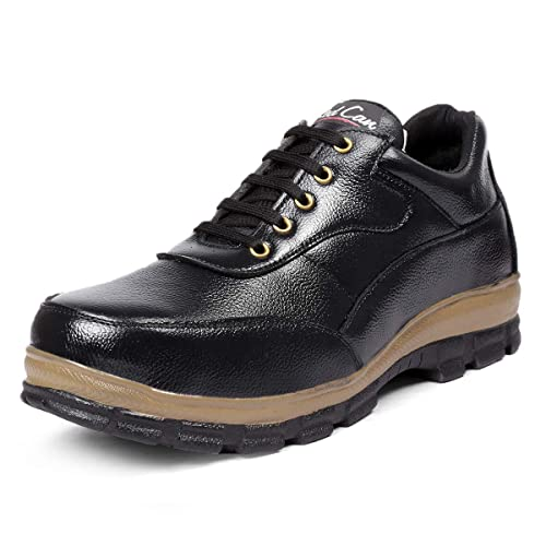 Buy RED CAN Genuine Leather Safety Shoe
