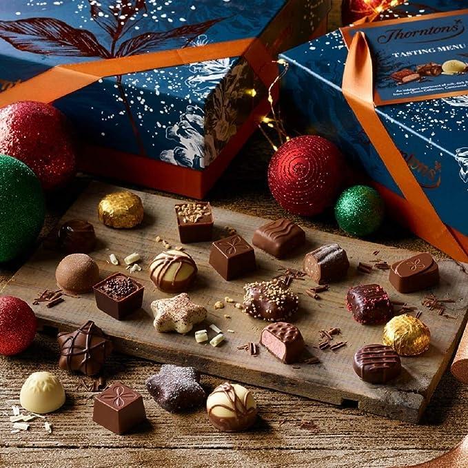 Thorntons Chocolate Indulgencias Saboreo Menú Caja (1038g)