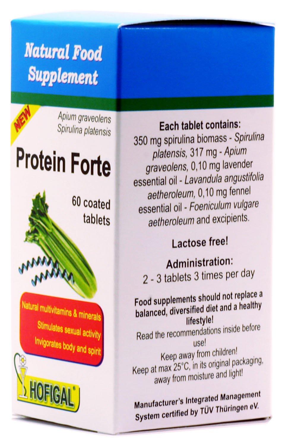 PROTEÍN FORTE - Multivitaminas y minerales NATURALES, 60 comprimidos recubiertos: Amazon.es: Salud y cuidado personal