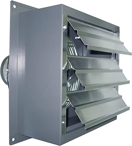 Canarm Ltd. S10-B2 Canarm Exhaust Fan with Aluminum Louver Shutter – 10