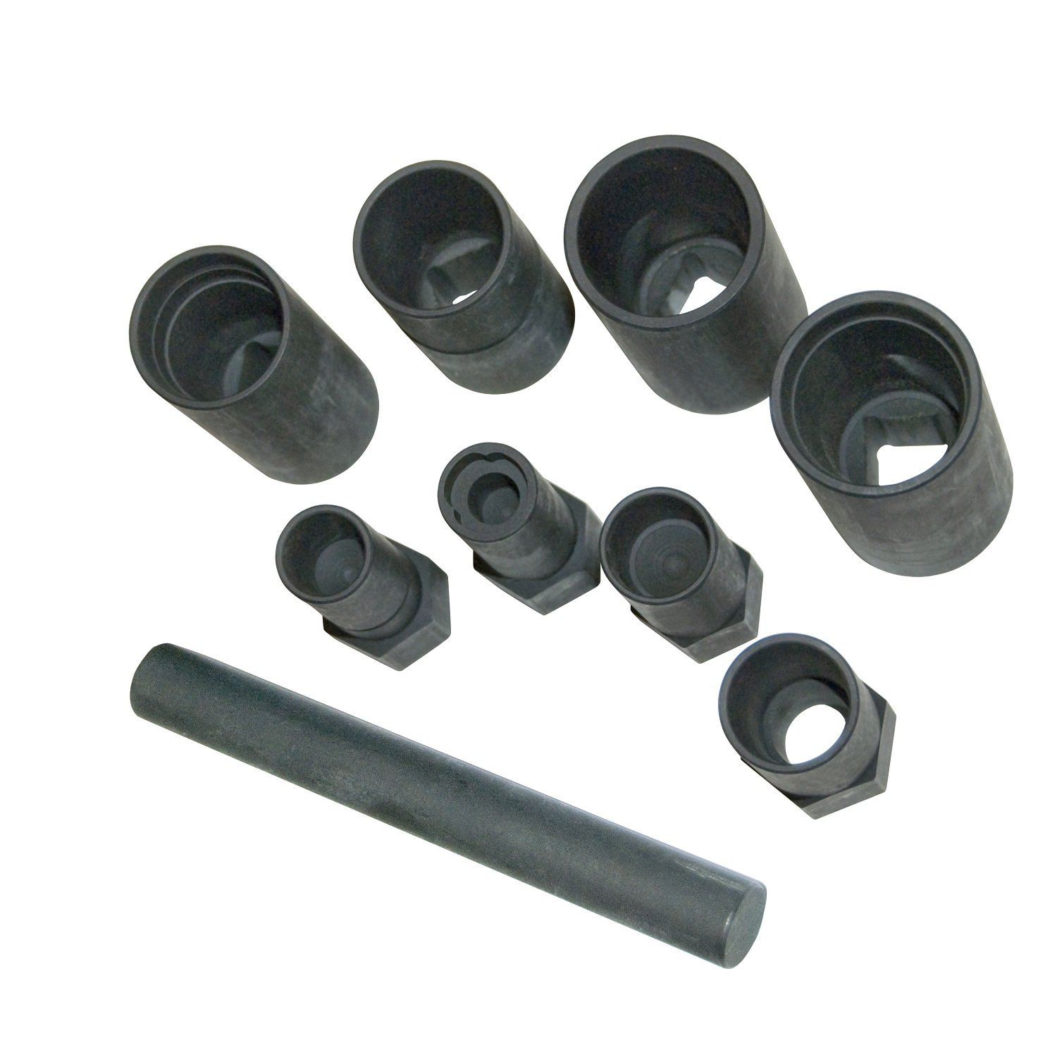OEMTOOLS 24225 1/2 Inch Drive Wheel Lock Removal Impact Socket Set, 9-Piece