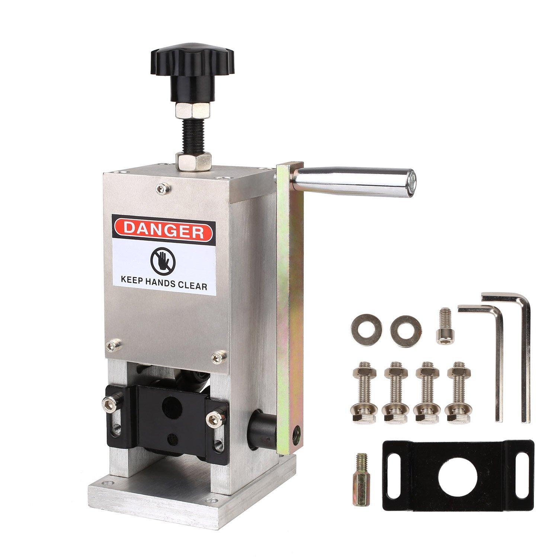 MVPOWER Máquina Pelacable Máquina de Desaislar para Cable Máquina de  Separador de Cable Manual Reciclaje de 4515a8f5efa4
