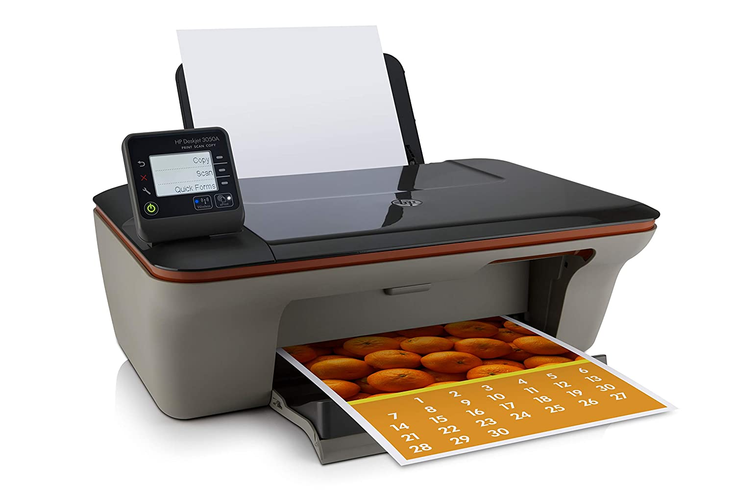 Hewlett Packard 3050A Wireless All-in-One Color Photo Printer