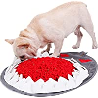YGXICN snuffle mat Pet Dog Puzzel Speelgoed Langzaam Voedsel Mat Hond Snuffle Mat Slow Feeder Pad Voor Moedig Foerageren…