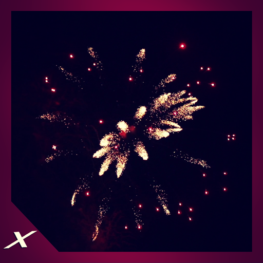 Dancing Fireworks - Let the Colours Fill Your Screen