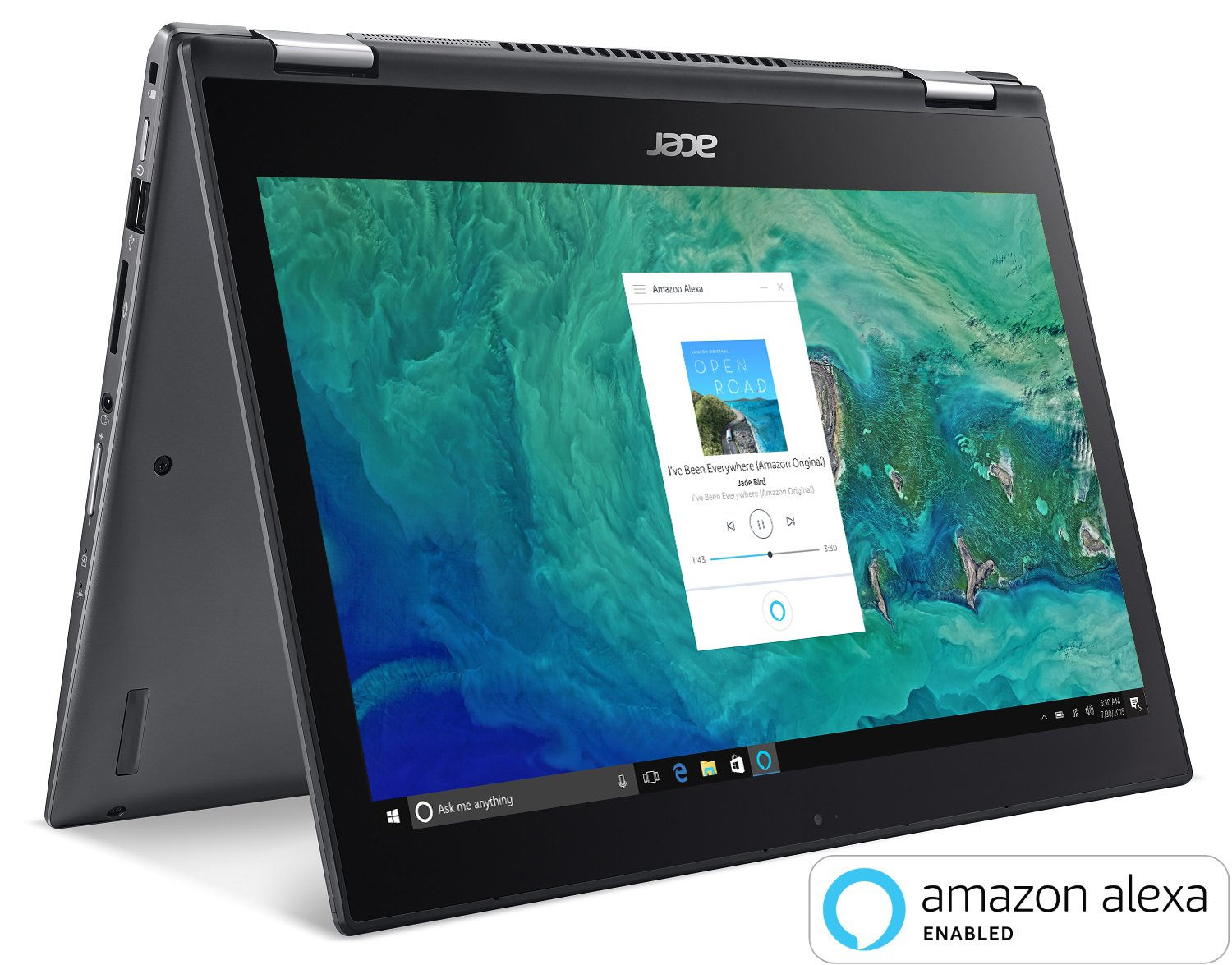 "Amazon.com : Acer Spin 5 SP513-52N-85DC, 13.3"" Full HD Touch, 8th Gen Intel  Core i7-8550U, Amazon Alexa Enabled, 8GB DDR4, 256GB SSD, Convertible, ..."