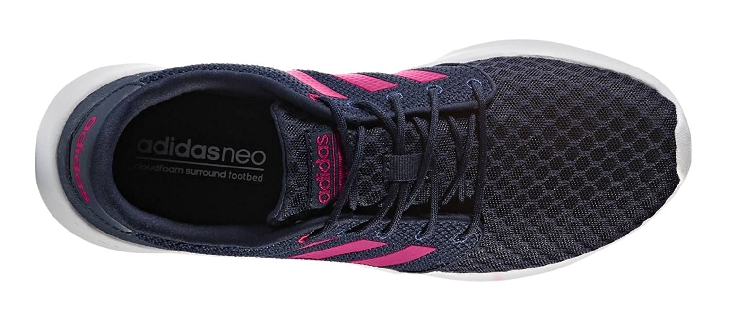 a4169aafd6a404 adidas Womens Cloudfoam Qt Racer LMT Trainers in Collegiate Navy  Amazon.co. uk  Shoes   Bags