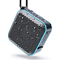 IPX7 Waterproof Speaker, Portable Bluetooth Wireless Speaker with FM Radio, TWS Stereo Pairing, 10W Bass Sound, 15H…