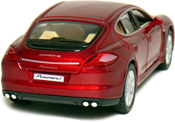 Kinsmart 1//36 Scale Diecast Porsche Carrera Gt in Color Black SG/_B004EHVOXW/_US