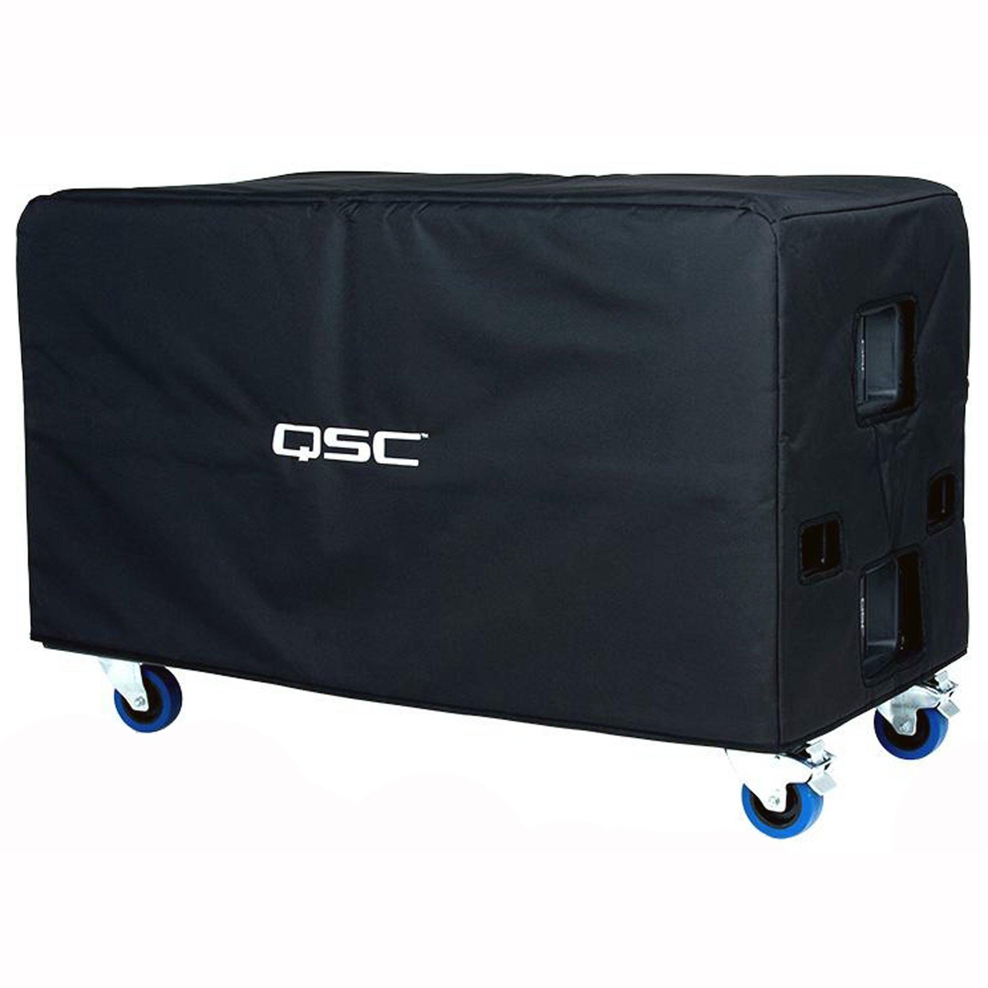 QSC E218SW-CVR Soft Padded Cordura Nylon Cover for E218 Subwoofer by QSC