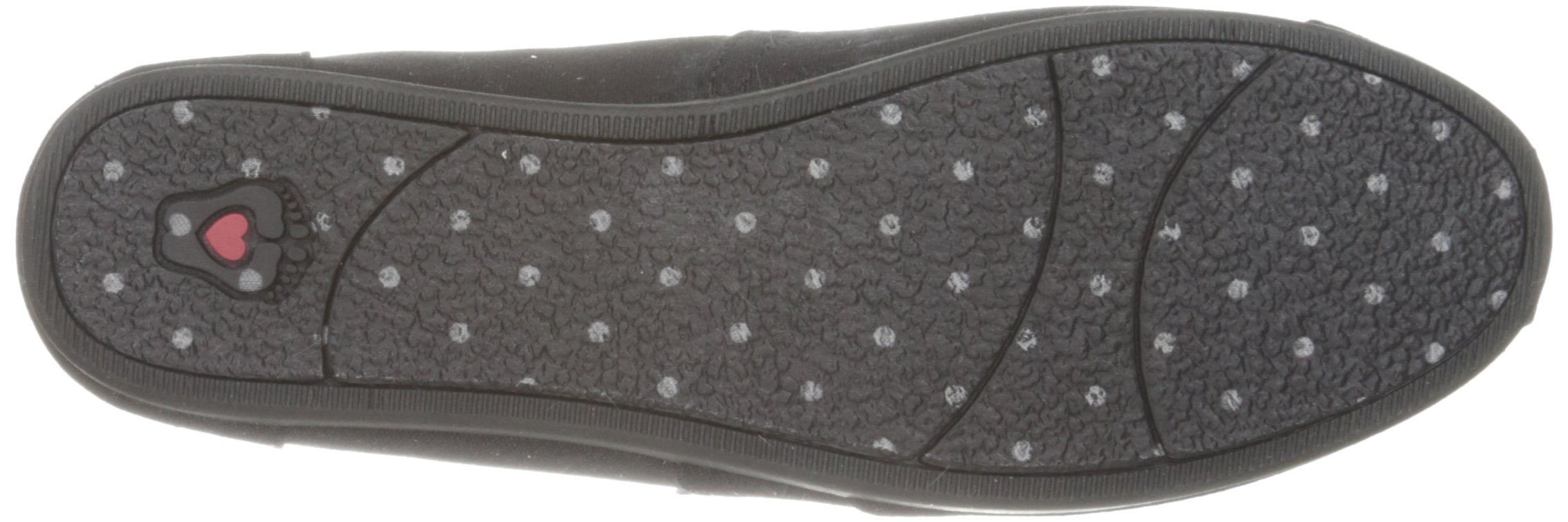 Skechers BOBS from Women's Plush - Peace and Love Flat, Black, 9.5 W US by Skechers (Image #3)