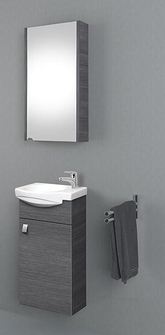 planetmoebel Badmöbel Set Gäste WC Waschtischunterschrank ...