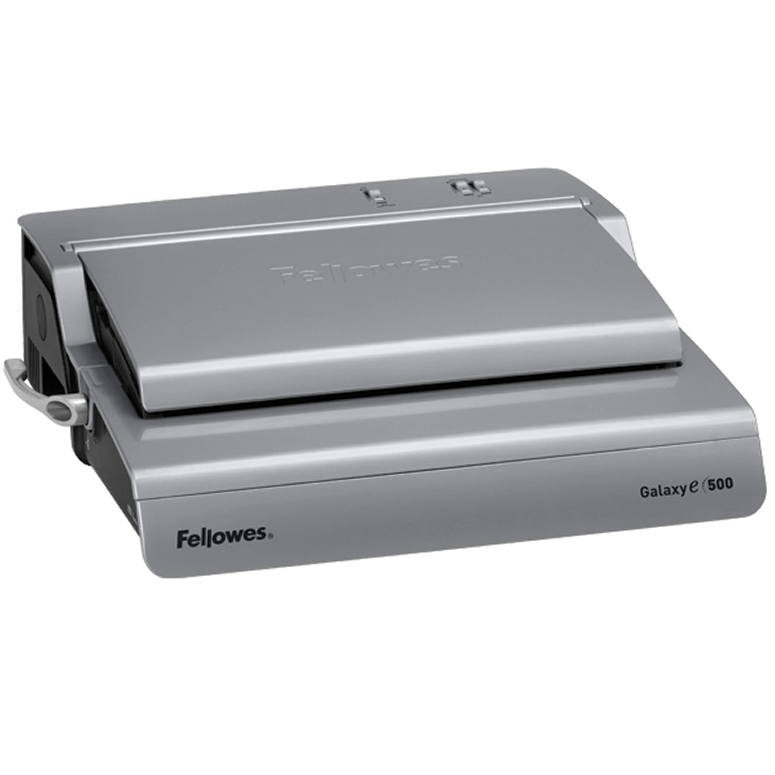 Fellowes 5218301 Galaxy 500 Electric Comb Binding System, 500 Sheets, 19 5/8x17 3/4x6 1/2, Gray (Renewed) by Fellowes (Image #4)