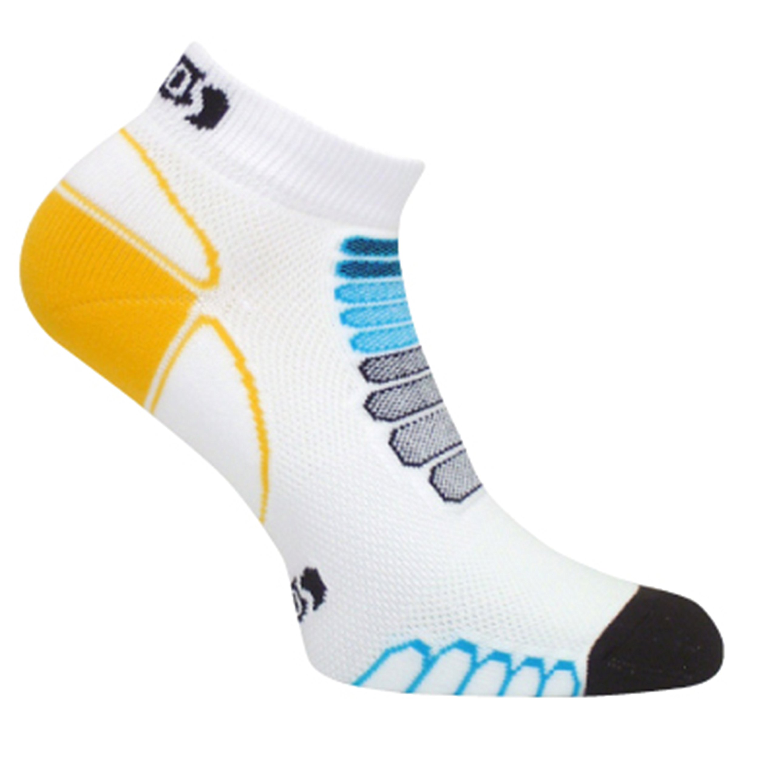 Eurosocks Sprint Silver Low Cut Light Weight Running Socks-Pair