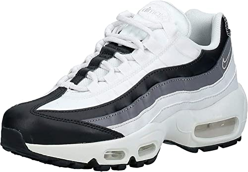 Desconocido Miseria baño  Amazon.com | Nike AIR MAX 95 W Trainers Women White/Black Low top Trainers  | Road Running