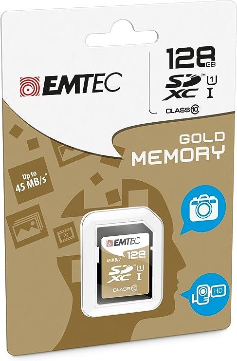 EMTEC 128 GB Class 10 Jumbo Ultra SDXC Memory Card