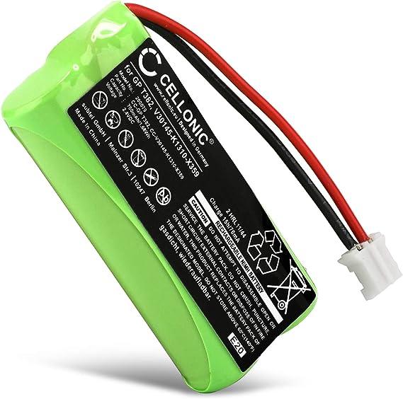 CELLONIC® Batería Compatible con Siemens Gigaset A120 A14 A140 A145 A160 A165 A245 A240 A260 A265, Universum CL15 SL15 (700mAh) V30145-K1310-X383,V30145-K1310-X359 bateria de Repuesto, Pila reemplazo: Amazon.es: Electrónica