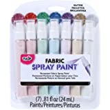 Tulip Fabric Spray Sets -7pk Glitter