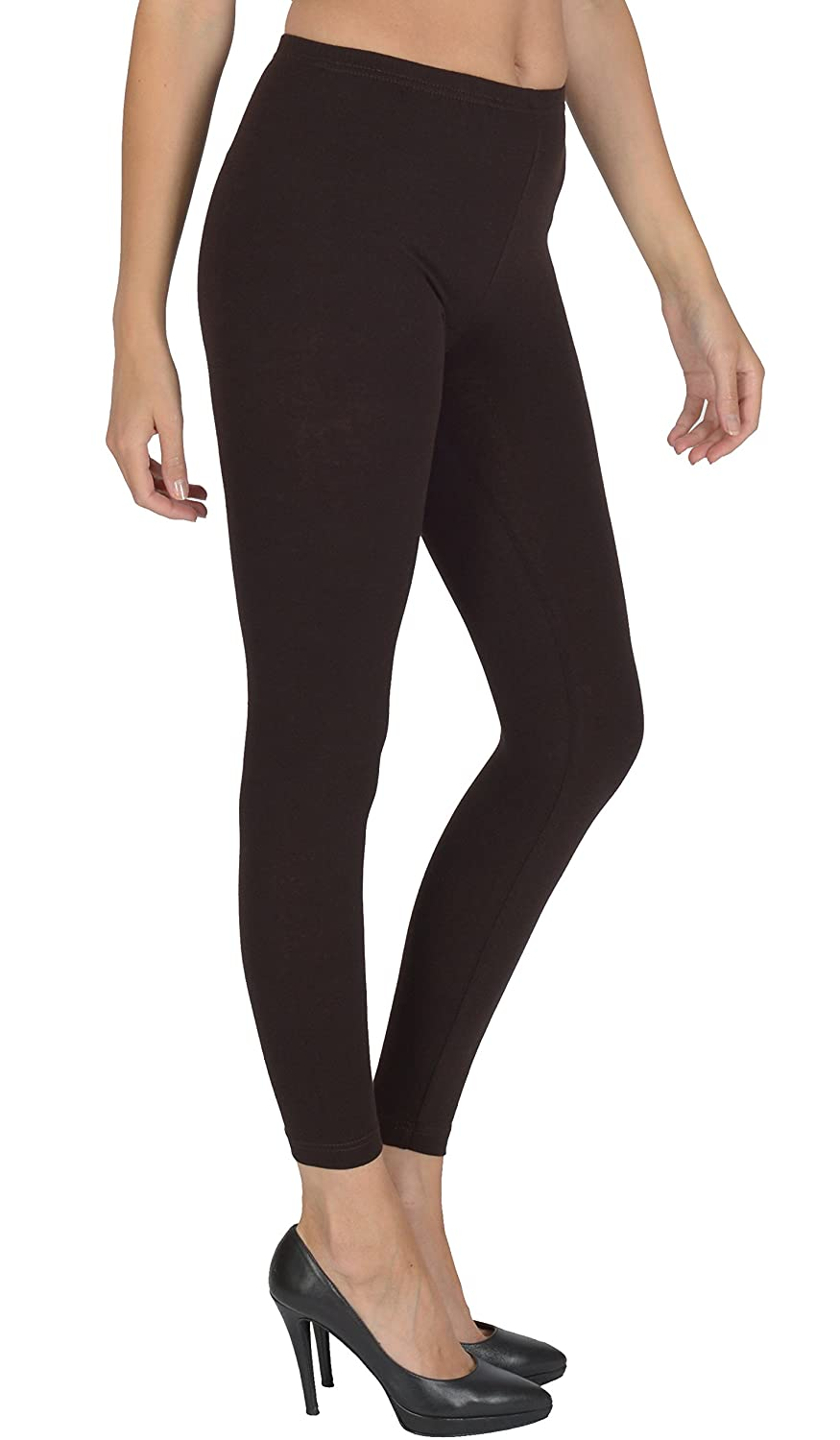 Women's Full Length Leggings By Today Is Her ® Extra Comfort Range, Plus Sizes A01-Parent