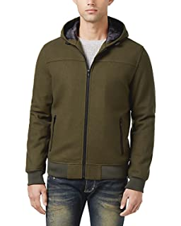 43ac70ae1 American Rag Men's Quill Bomber Jacket at Amazon Men's Clothing store: