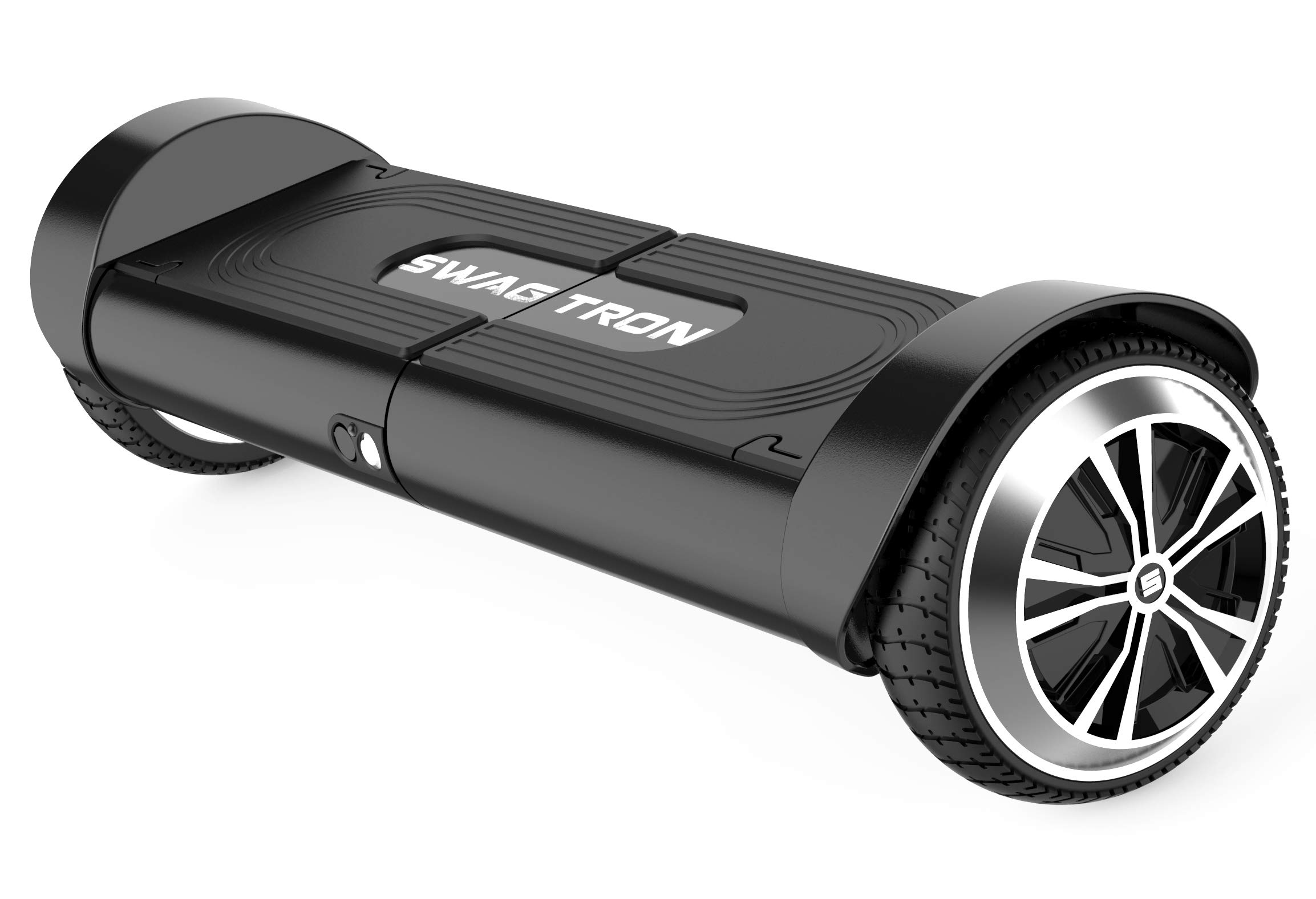 Swagtron 82082-2 Swagboard Duro T8 Lithium-Free Hoverboard Startup Self Balancing and Durable Metal Casing Supports Up To 200 Lbs UL2272 Battery , Black, One Size by Swagtron