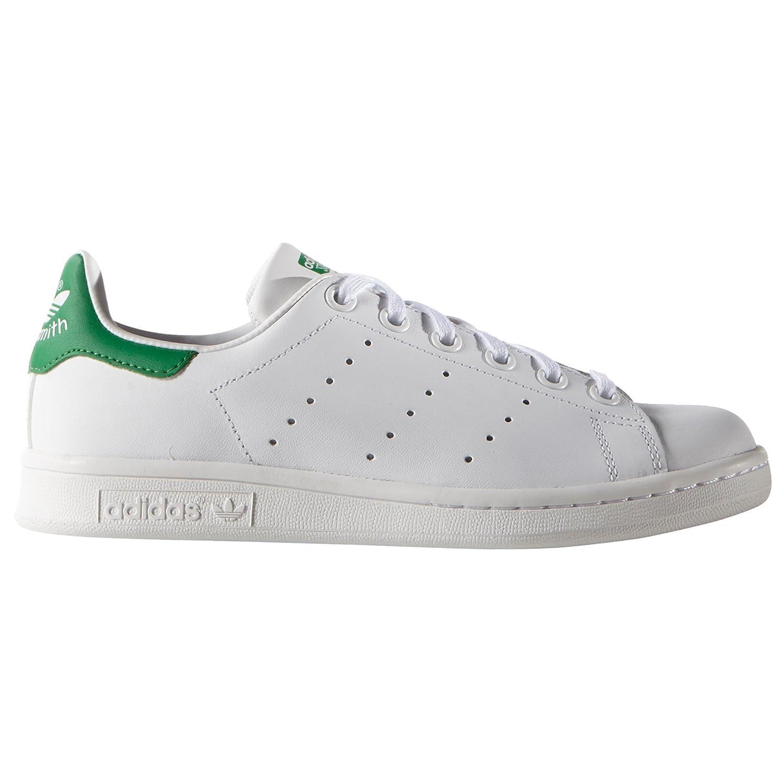 Adidas Stan Smith Zapatillas Blancas para mujer. Sneaker M20605 (38 EU, White/White/Green)
