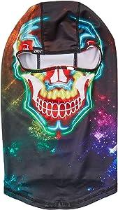 ZANheadgear Unisex-Adult Balaclava (Polyester Electric Skull) (Multicolor, One Size)