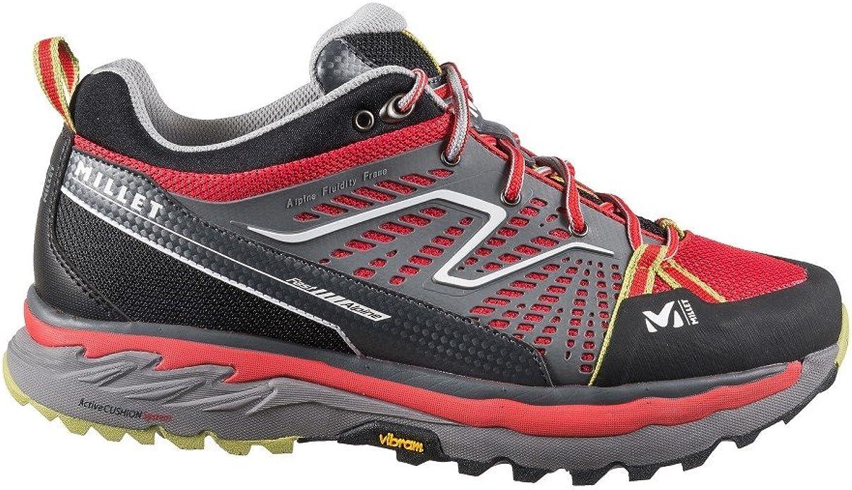 Millet-Zapatos Bajos Fast Alpine De Senderismo, Color Rojo y Verde para Hombre, diseño De Hombre, Color Rojo Rojo Talla:25: Amazon.es: Deportes y aire libre