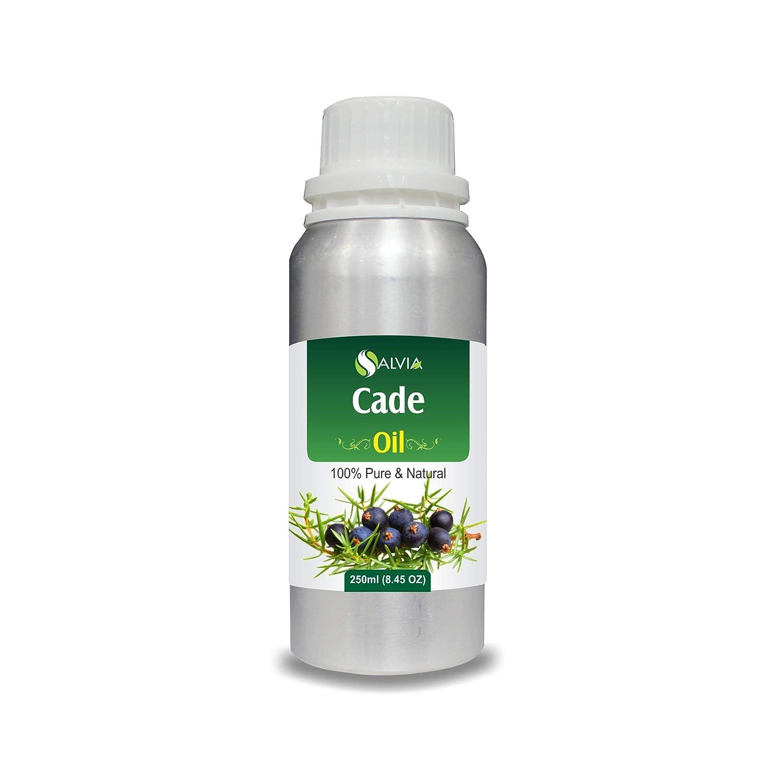 Cade Essential Oil (Juniperus oxycedrus) Therapeutic Oil 100% Pure & Natural - Undiluted Uncut Aromatherapy Oil - 250 ML 250 ML  B07JR81BWG
