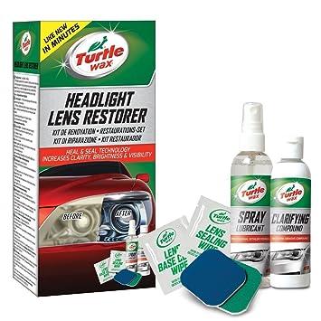 Turtle Wax 51768 Headlight Restorer Kit Headlamp Cleaning Restores