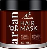 ArtNaturals Arganöl Haarkur Conditioner Maske - mit Aloe Vera & Keratin - 236ml - Sulfat Frei