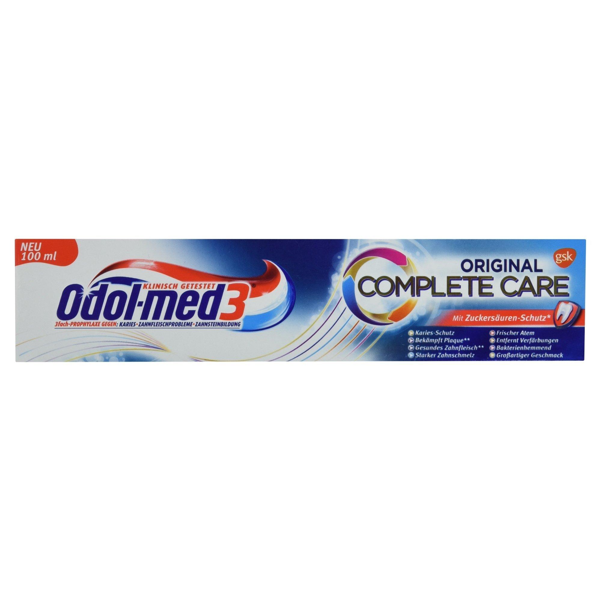 Odol-med 3 Zahncreme Complete Care original 100 ml