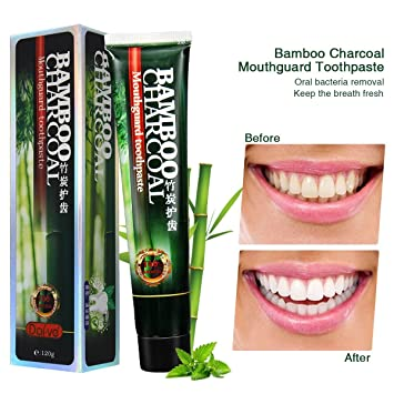 amazon com activated charcoal teeth whitening toothpaste black