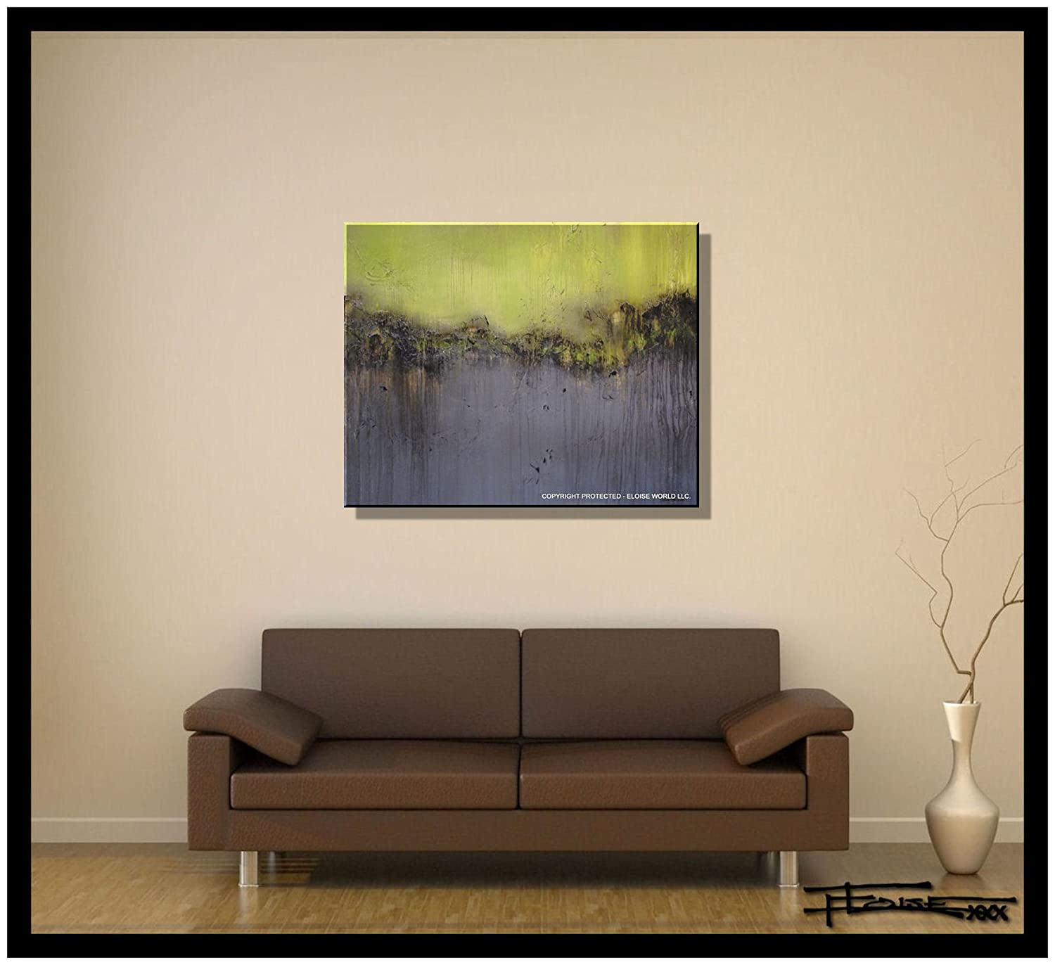 Amazon Abstract Canvas Painting Modern Wall Art Limited