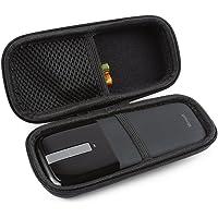 bovke EVA Shockproof Hard Protective Case bolsa de almacenamiento de viaje bolsa Cover para Microsoft Arc Touch mouse, Negro, Negro