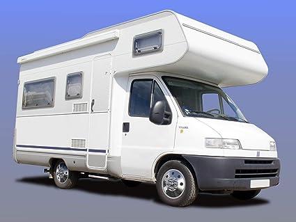 Universal Tapacubos (1 pieza) cromo 16 pulgadas, apto para caravanas, coches y Transporter: Amazon.es: Coche y moto
