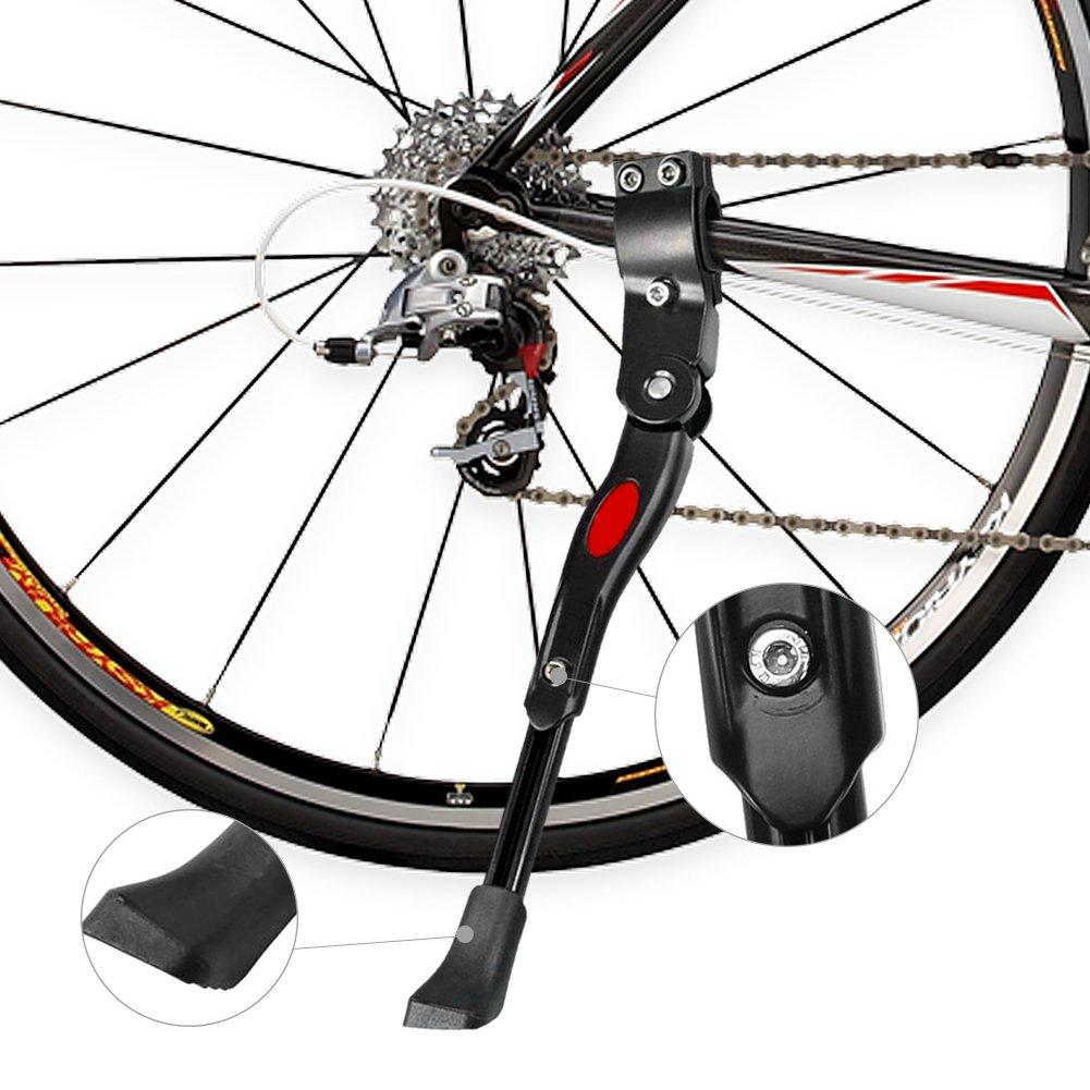 Hihey Soporte para Bicicleta Soporte Lateral para Bicicleta Soporte Universal para Bicicleta Plegable Soporte para Bicicleta