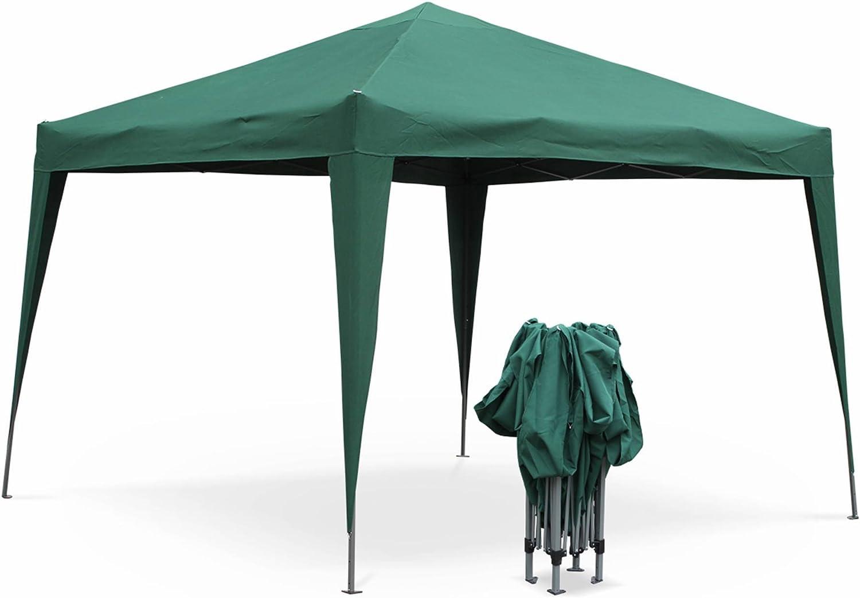 Alices Garden - Cenador plegable Tecto 3x3 m: Amazon.es: Jardín