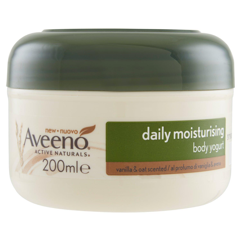 Aveeno Daily Moisturising Body Yogurt, 200 ml, Vanilla and Oat Scented Johnson & Johnson 8955100